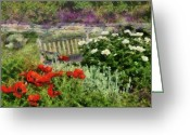 Spring Scenes Greeting Cards - Flower - Poppy - Poppies  Greeting Card by Mike Savad