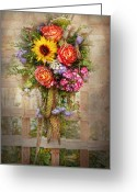 Spring Scenes Greeting Cards - Flower - Summers blessing  Greeting Card by Mike Savad