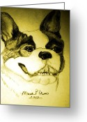 Maria Urso Greeting Cards - Focused Greeting Card by Maria Urso - Artist and Photographer