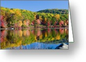 Foilage Greeting Cards - Foilage in the Fall Greeting Card by Anthony Sacco