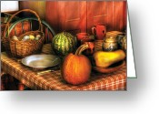 Melon Greeting Cards - Food - Easter Harvest  Greeting Card by Mike Savad
