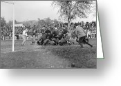 Carlisle Greeting Cards - Football Game, 1912 Greeting Card by Granger
