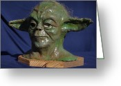 Star Sculpture Greeting Cards - For Elliot Greeting Card by Rick Ahlvers