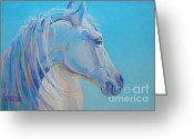 Pony Greeting Cards - For Melissa Greeting Card by Kimberly Santini