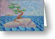 Bay Islands Pastels Greeting Cards - For Mom Greeting Card by Ben Cote