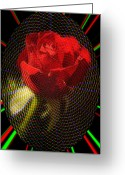 Erotica Digital Art Greeting Cards - For my love Greeting Card by Alexandra Mallory