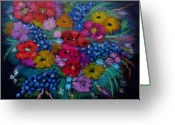 Beautiful Flowers Greeting Cards - For You In Love Greeting Card by Barbara Teller