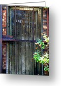 Birmingham Greeting Cards - Forbidden Door Greeting Card by Roberto Alamino