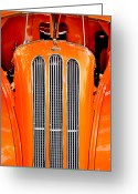 Ford Street Rod Greeting Cards - Ford Anglia Classic Greeting Card by Carolyn Marshall