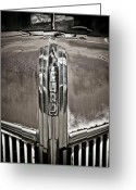 Ford Truck Greeting Cards - Ford Chrome Grille Greeting Card by Marilyn Hunt