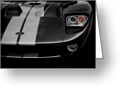 Race Car Photo Greeting Cards - Ford GT Greeting Card by Dennis Hedberg