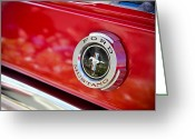 Classic Mustang Greeting Cards - Ford Mustang Greeting Card by April Reppucci