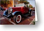 Ocularperceptions Greeting Cards - Ford Roadster Greeting Card by Christopher Holmes