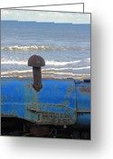 Mundesley Greeting Cards - Fordson Major Greeting Card by Camera Rustica Bill Kerr