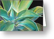 Teal Greeting Cards - Foregone Conclusion Greeting Card by Laura Bell