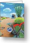 Surrealism Greeting Cards - Forever Yours Greeting Card by Snake Jagger