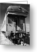 Train Car Greeting Cards - Forgotten Beauty Greeting Card by Slade Roberts