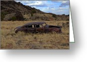 Desert Rat Photo Greeting Cards - Forgotten Classic Greeting Card by Steve McKinzie