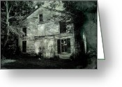 Daguerreotype Greeting Cards - Forgotten Past Greeting Card by Colleen Kammerer