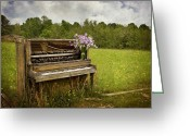 Kathy Jennings Photographs Greeting Cards - Forgotten Tunes Greeting Card by Kathy Jennings
