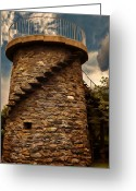 Canons Greeting Cards - Fort Adams State Park Greeting Card by Lourry Legarde