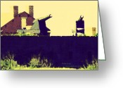 Januszkiewicz Mixed Media Greeting Cards - Fort Clinch Greeting Card by Patricia Januszkiewicz