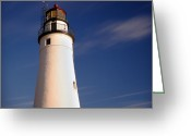 Charles River Digital Art Greeting Cards - Fort Gratiot Lighthouse Greeting Card by Gordon Dean II