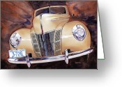 Deluxe Greeting Cards - Forty Ford Greeting Card by Mike Hill
