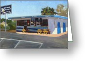 Award Greeting Cards - Fosters Freeze Greeting Card by Deborah Cushman