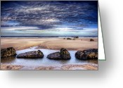 Seaview Greeting Cards - Four Greeting Card by Svetlana Sewell