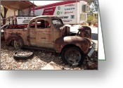 Chev Pickup Greeting Cards - Frame Greeting Card by James Mcinnes