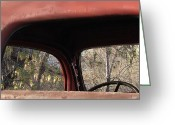 Old Trucks  Greeting Cards - Frames Greeting Card by Steven Milner