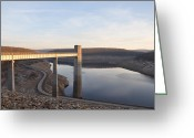 Francis Digital Art Greeting Cards - Francis E Walter Dam Greeting Card by Bill Cannon