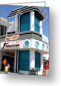 Franciscan Greeting Cards - Franciscan Crab Restaurant . Fishermans Wharf . San Francisco California . 7D14351 Greeting Card by Wingsdomain Art and Photography