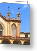 Places Greeting Cards - Franciscan Monastery In Nice France Greeting Card by Ben and Raisa Gertsberg