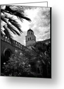 Franciscan Greeting Cards - Franciscan Monastery Greeting Card by Terence Davis