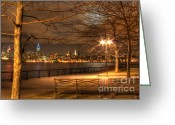 Value Greeting Cards - Frank Sinatra Park Greeting Card by Lee Dos Santos