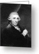 1732 Greeting Cards - Franz Joseph Haydn, Austrian Composer Greeting Card by Omikron