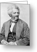 Black History Greeting Cards - Frederick Douglass Greeting Card by War Is Hell Store
