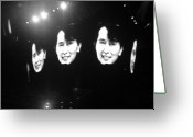 U2 Photo Greeting Cards - Free at last     Free at last Greeting Card by WaLdEmAr BoRrErO