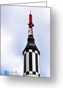 Spacecraft Greeting Cards - Freedom 7 Greeting Card by Bob Orsillo