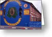 Regiment Greeting Cards - Freedom Corner Mural Belfast Northern Ireland Greeting Card by Thomas R Fletcher