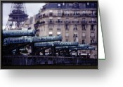 Canons Greeting Cards - French Canons Greeting Card by Don Wolf