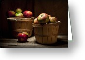 Fresh Picked Fruit Greeting Cards - Fresh From the Orchard III Greeting Card by Tom Mc Nemar