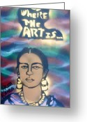 Monopoly Greeting Cards - Frida Kahlo Greeting Card by Tony B Conscious