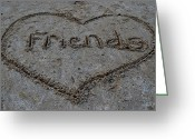 Buddies Greeting Cards - Friends Greeting Card by Robert Harmon