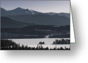 Mountain Summit Greeting Cards - Frisco Greeting Card by Ryan Heffron