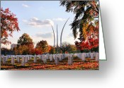 Dc Greeting Cards - From Arlington Greeting Card by JC Findley