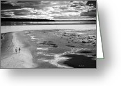 Romance Greeting Cards - From Here To Eternity  Bailey Island Maine Greeting Card by Bob Orsillo