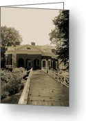 Portico Greeting Cards - From the Garden to Home Greeting Card by DigiArt Diaries by Vicky Browning